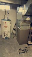 FURNACE/ AIR CONDITIONER A-C/ WATER TANK/ ROOFTOP / DUCT WORK / RED TAG REMOVAL / CUSTOM SHEET METAL