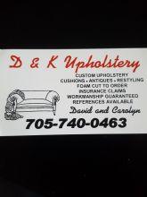 D&K Upholstery